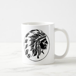 Indian Chief Head Coffee Mug