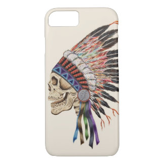 Indian Chief Skull iPhone 7 case