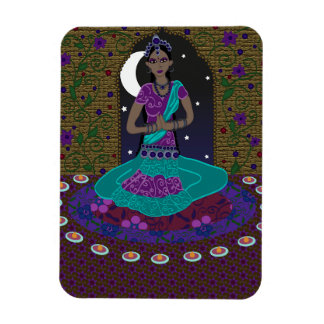 Indian Classical Dancer Magnet