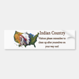 Indian Country #2 Bumper Sticker
