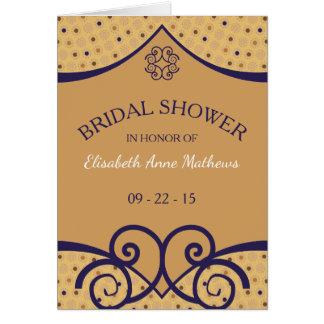 Indian Delight Bridal Shower Invitation
