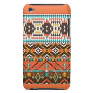 Indian Diamomd Shape Pattern Print iPod Touch Case