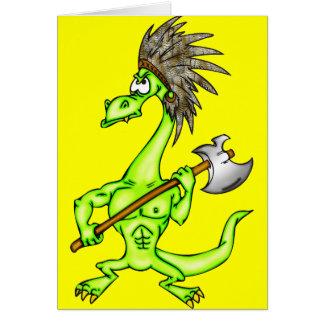 Indian Dragon Card