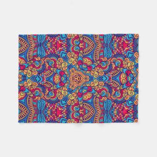 Indian Dream Kaleidoscope Fleece Blanket