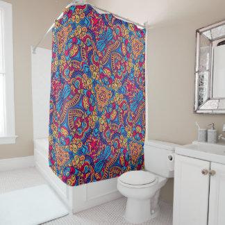 Indian Dream Kaleidoscope Shower Curtain