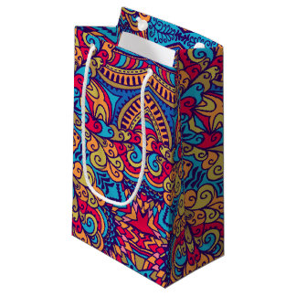 Indian Dream Kaleidoscope Small Gift Bag