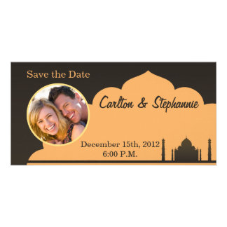 Indian Dream Wedding Photo Announcement Customised Photo Card