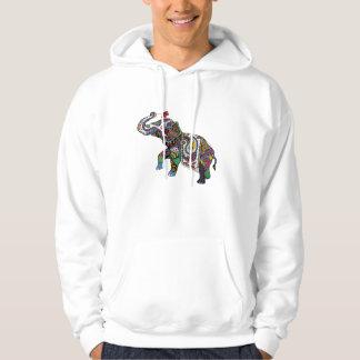 Indian Elephant Hoodie