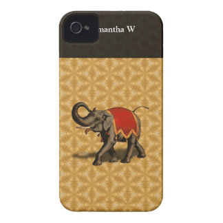 Indian Elephant w/Red Cloth Blackberry Bold Cover