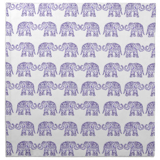 Indian elephants napkin