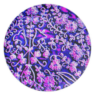 Indian Embroidery Plate