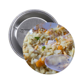 Indian fast food snack pinback buttons