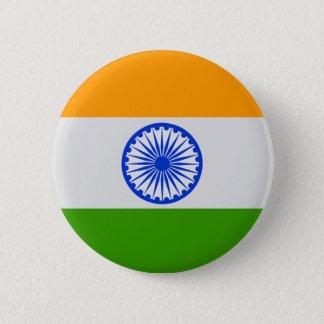 Indian Flag 6 Cm Round Badge