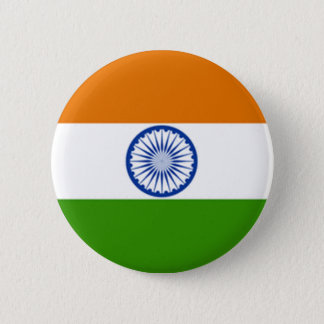 Indian Flag 6 Cm Round Badge