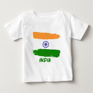 Indian flag designs baby T-Shirt