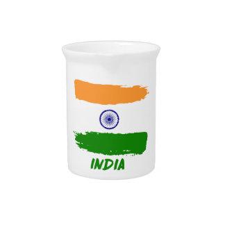 Indian flag designs pitcher