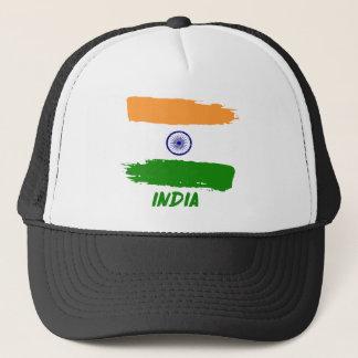 Indian flag designs trucker hat
