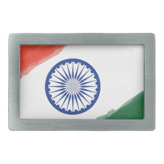 Indian Flag Flag India National Country Nation Belt Buckle