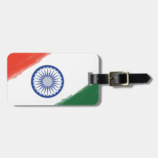 Indian Flag Flag India National Country Nation Luggage Tag