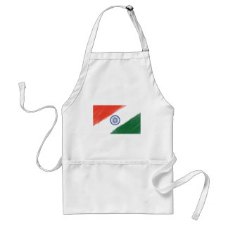 Indian Flag Flag India National Country Nation Standard Apron