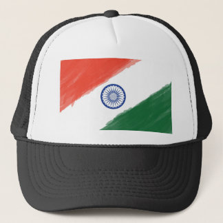 Indian Flag Flag India National Country Nation Trucker Hat