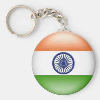 Indian Flag Key Ring