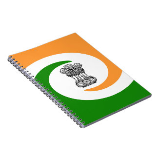 Indian flag notebook