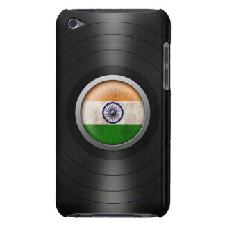 Indian Flag Vinyl Record Album Graphic Barely There iPod Cases