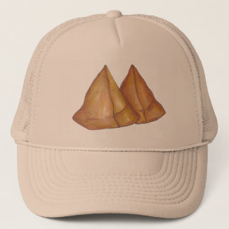 Indian Food Vegetarian Cooking Samosas Pastry Trucker Hat