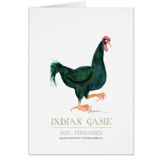 INDIAN GAME HEN, tony fernandes Card