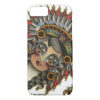 indian girl 3 iPhone 7 case