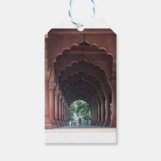 Indian Girl at Diwan-i-Aam, Red Fort, Delhi Gift Tags