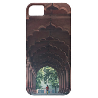 Indian Girl at Diwan-i-Aam, Red Fort, Delhi iPhone 5 Cover