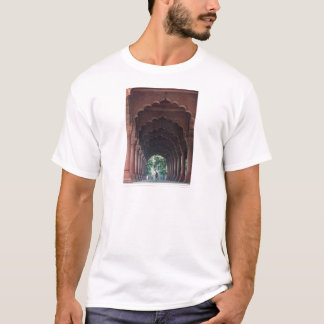 Indian Girl at Diwan-i-Aam, Red Fort, Delhi T-Shirt