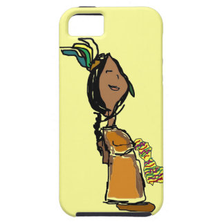 Indian Girl iPhone 5 Case