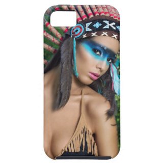 Indian girl, native american iPhone 5 covers