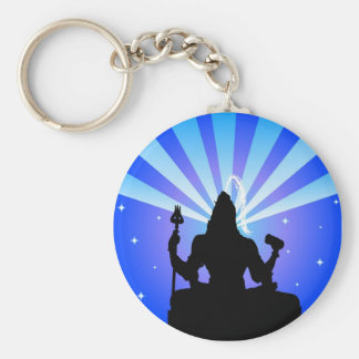 Indian god Shiva - Keychain
