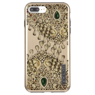 Indian Gold Bridal Jewelry Pattern Phone Case