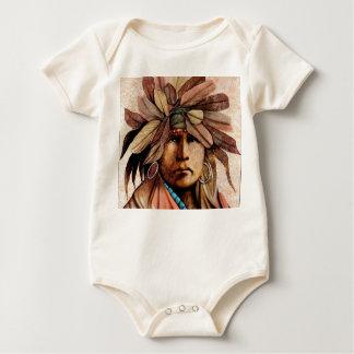 Indian Head Baby Bodysuit