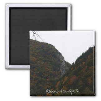 indian head, Delaware Water Gap, Pa. Square Magnet