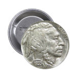 INDIAN HEAD NICKEL PINBACK BUTTONS