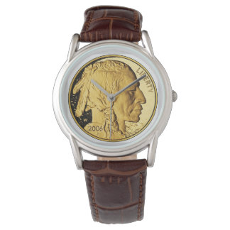 Indian Head Nickel Vintage Classic Wrist Watches