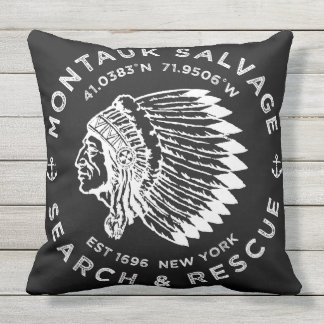 Indian Head Pillow / Montauk Salvage Company
