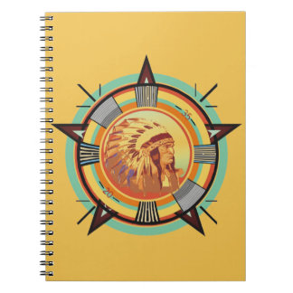 Indian Head Test Pattern Notebook