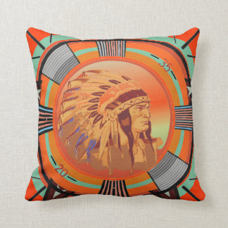 Indian Head Test Pattern Pillow