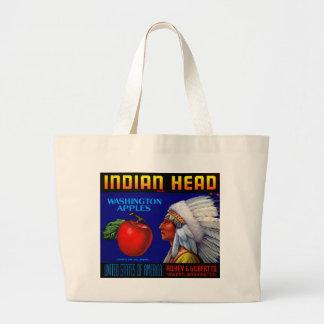 Indian Head Washington Apples Jumbo Tote Bag