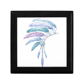 Indian Headdress in Watercolour Gift Box