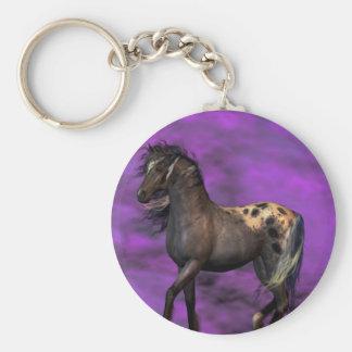 Indian Horse Key Ring