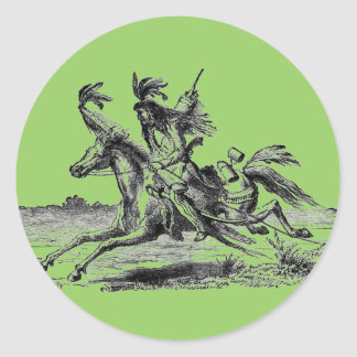 Indian Horseback Sticker
