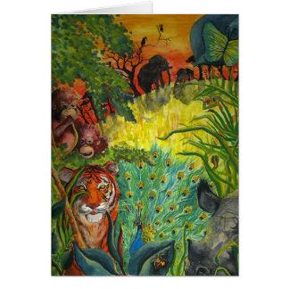 Indian Jungle Card